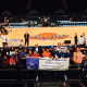 Heavenly Productions Foundation too kids to a Knicks game.