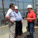 Gov. Andrew Cuomo received a briefing at Indian Point on Sunday, a day after a transformer failure.