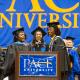 Pace University held undergraduate commencement ceremonies Tuesday at the Pleasantville campus