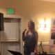 Katrina Rocco of the Ossining Children's Center speaks at the Center's benefit.