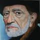 Michael Wagner's Willie Nelson painting.