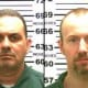 Convicted murderers Richard Matt, left, and David Sweat, escaped from an upstate prison in 2015 with the help of Joyce Mitchell, who is now incarcerated at the Bedford Hills Correctional Facility in Bedford Hills. Mitchell was recently denied parole.