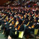 Students and guests at the AITE graduation Wednesday.