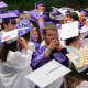 Members of John Jay High School's Class of 2015 received their diplomas on Tuesday at Caramoor in Katonah.