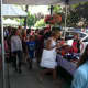 The annual sidewalk sales in Greenwich saw hundreds of shoppers flock to downtown Greenwich to grab some deals.