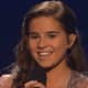 "Mamaroneck teenager Carly Sonenclar beamed after her performance on ""X Factor"" Wednesday night."