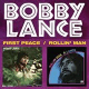"""Bobby Lance's one-disc double album is titled """"First Peace/Rollin' Man."""""""