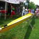 The Norwalk River Rowing display.