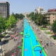 Slide the city, a 1,000-foot-long water slide will be in Stamford on Sunday.