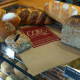 Some of the bread offerings at the COBS Bread bakery in Stamford.