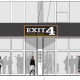 A rendering of the proposed Exit 4 Food Hall in Mount Kisco.