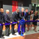 Ribbon cutting with Gov. Dannel P. Malloy and Mayor David Martin at 66 Summer St.