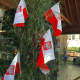 Polish flags were flying proudly at the annual Polish Harvest Festival at Holy Name of Jesus Church on Sunday.