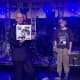 """DIIV vocalist Zachary Cole Smith and guitarist Andrew Bailey, former New Canaan students, performed on the """"Late Show with David Letterman"""" Thursday night."""