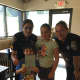 Sergeant Gulino and Officer Hollister received a thank you card from some young visitors to Coffee for a Cop.