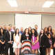 Newly tenured teachers were honored recently by the Peekskill Board of Education.