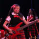 "Young actors perform in the Rockland Theatre Company's musical comedy ""School of Rock."""