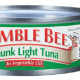 """Bumble Bee has voluntarily recalled tuna that may have been contaminated during the commercial sterilization process. Pictured is the company's """"Chunk Light Tuna"""" in vegetable oil."""