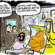Freelance political cartoonist Clay Jones is offering some of his cartoons for free to provide some levity during the novel coronavirus outbreak.