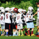 There are over 600 kids involved in the youth lacrosse program