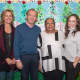 From left: Laura deBuys, TPH's executive director; Brian Hinchcliffe, benefactor, Yonkers P.S. 17 Principal Rita Moorhead and Francile Albright, TPH director of education.