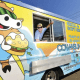 Benjamin Boger in his Norwalk-based Cowabunga food truck.