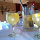 White wine sangria at Pintxo y Tapas in Englewood.