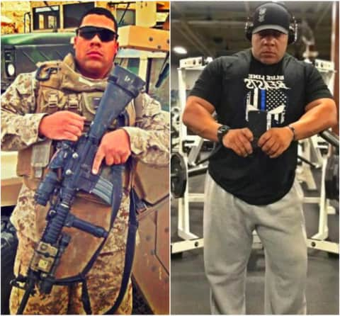 Fit Cops Garfield Officer Has Marine Corps Mentality Garfield Lodi Daily Voice