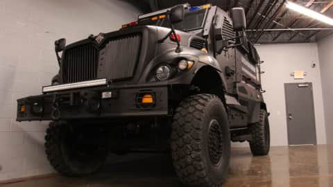 Why Does Garfield Police Department Need Armor Plated Military Truck Garfield Lodi Daily Voice