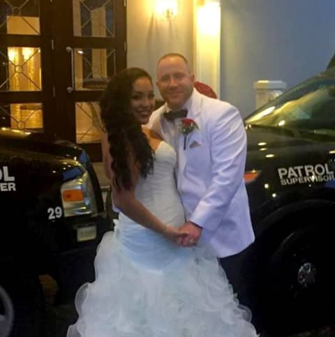 Blue Love Matters Garfield Police Officers Say I Do Garfield Lodi Daily Voice