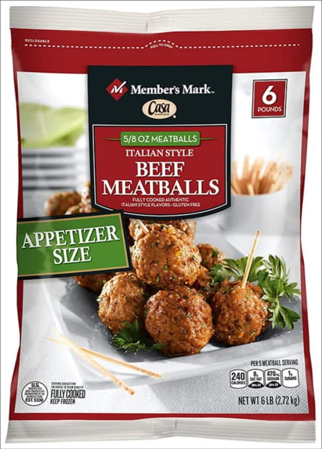 The label of the meatball that may be adulterated by a contaminant.
