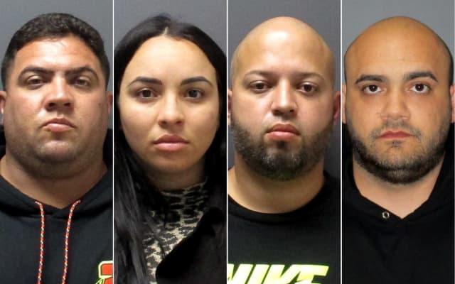 Michelle Lopez Moya, Jomar Gonzalez Vega, Joseph Soto Figueroa, Juan Martinez Pastoriza