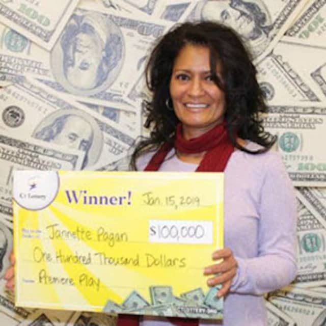 $100,000 Bridgeport Lottery Winner Says It's A 'Life Changer
