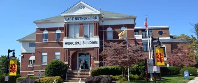 East Rutherford municipal building.