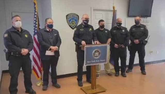 Three Putnam County Sheriff's deputies were honored as First Responders of the Month for a life-saving incident.