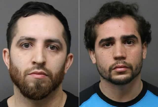 John Jimenez Jr., left, and Justin Jimenez
