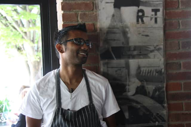 Chef Mogan Anthony of Village Social in Mount Kisco.