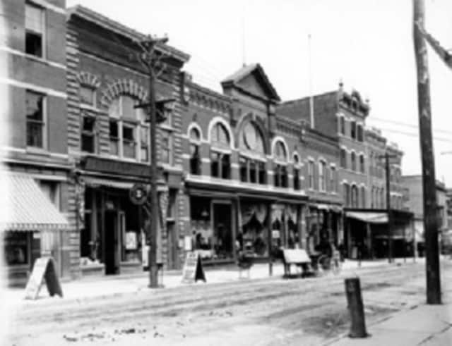 """The Historical Society of the Nyacks will present the """"Nyack Business: Long Before the Malls"""" exhibit on Sundays in May."""