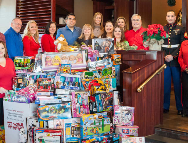 Toys for Tots donation collections were stolen in Yonkers and White Plains.