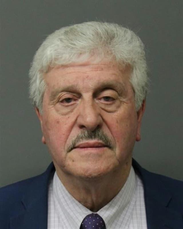 Now-former Elmwood Park Mayor Francesco Caramagna