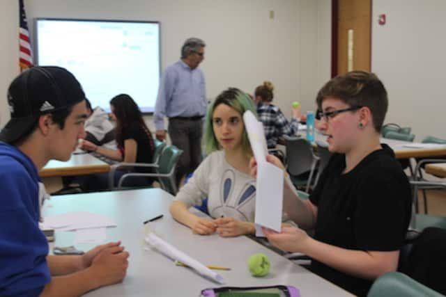 Students at The Tech Center participated in a pilot workshop on the campus of Putnam/Northern Westchester BOCES.