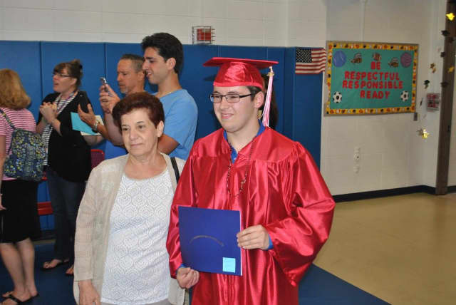 Dean Yorio was one of the Fox Meadow High School graduates.