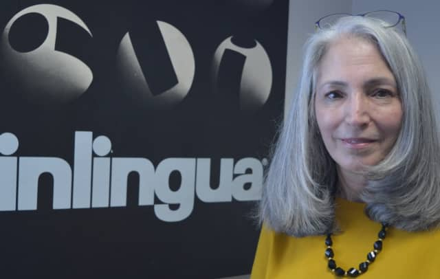 Sandra Stern of Mahwah, coordinator of translation services for inlingua School of Languages in Ridgewood.