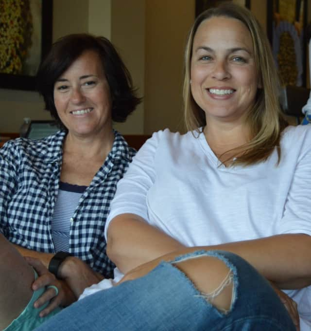 Gwen Sikora, left, and Lisa Ambrose of The Write Message.
