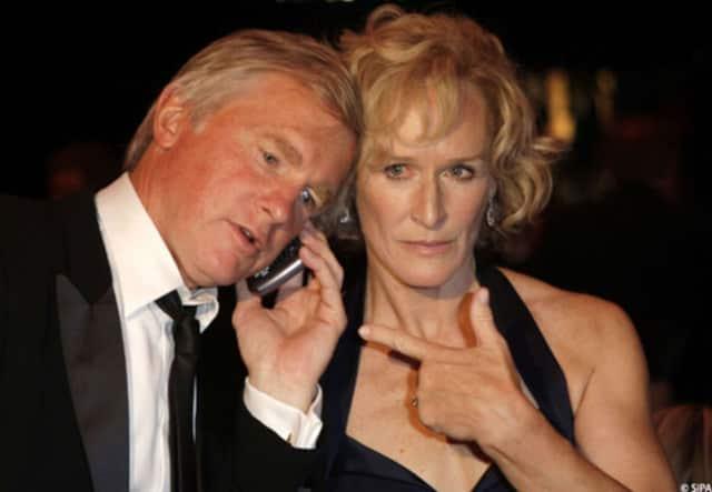 Bedford's Glenn Close divorces third husband, David Shaw.