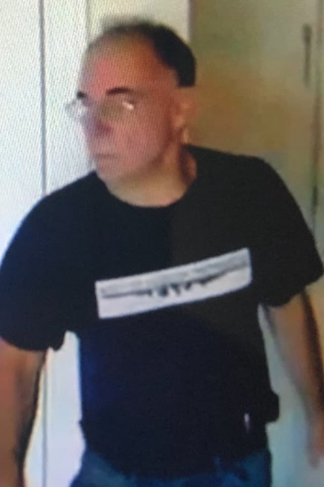 Authorities asked that anyone who knows or sees the man in the photo contact Cliffside Park PD: (201) 945-3600.