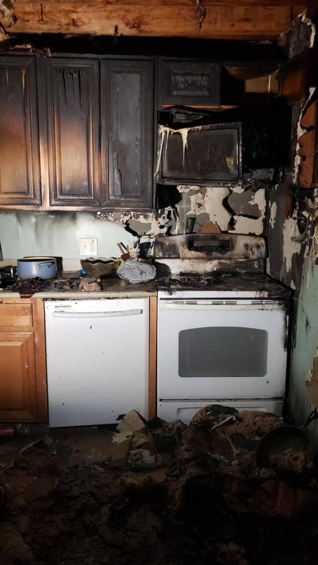 A kitchen fire broke out in Arlington.