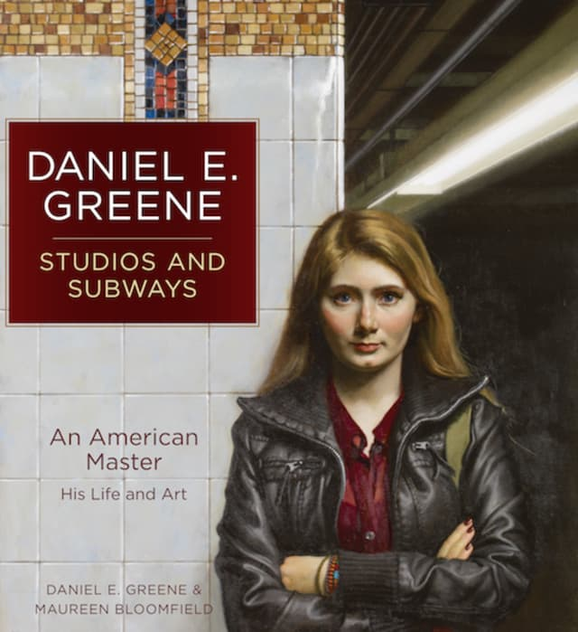 A monograph on artist Daniel Greene, who has long lived and worked in North Salem, has been released. Courtesy Daniel Greene.