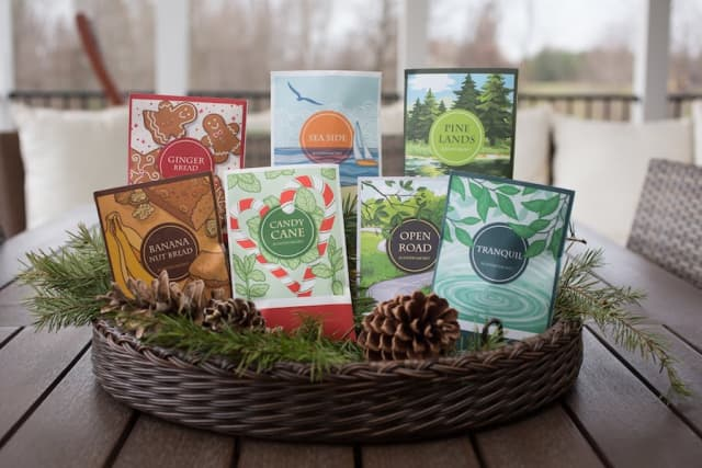 Floral Simplicity's scented sachets are ideal for the home – or make an easy, affordable holiday gift. Courtesy Floral Simplicity.