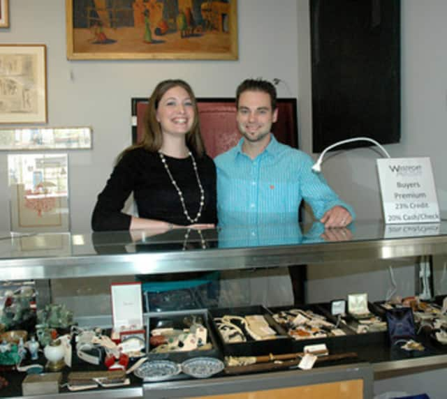 Travis and Kate Worrell are the co-owners of Westport Auctions, which will run the auction at the Westport Uncorked benefit for the Sunrise Rotary Club.